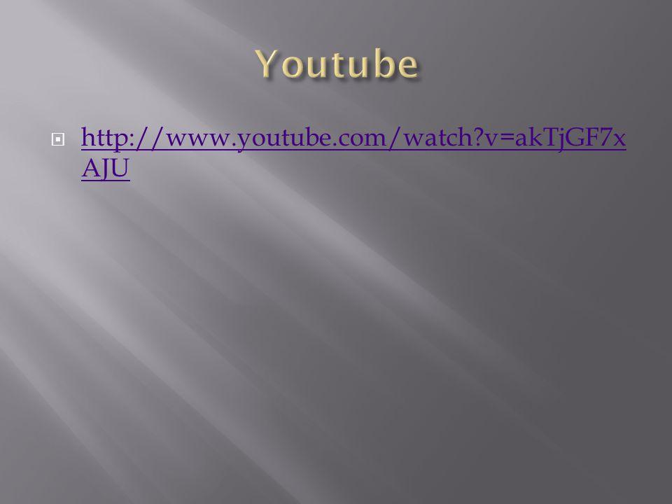  http://www.youtube.com/watch?v=akTjGF7x AJU http://www.youtube.com/watch?v=akTjGF7x AJU