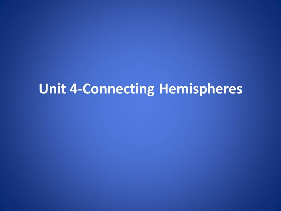 Unit 4-Connecting Hemispheres