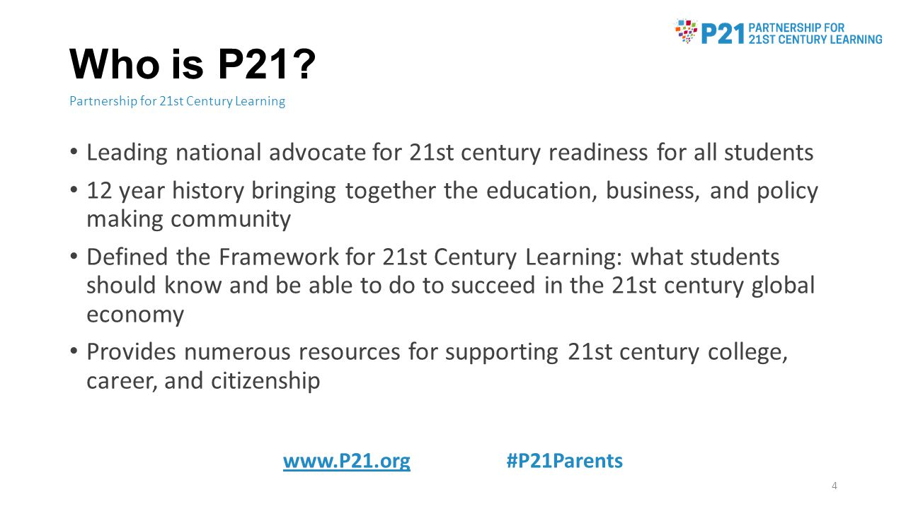 Who is P21.