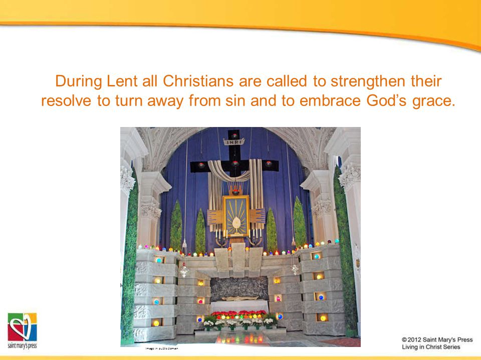 During Lent adults who are seeking to become Catholics enter into a period called purification and enlightenment. These adults are called the elect. These elect are preparing to receive the Sacraments of Baptism, the Eucharist, and Confirmation at the Easter Vigil liturgy.