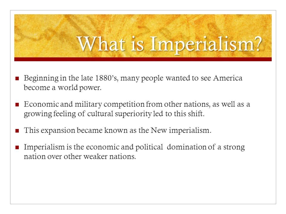 Create this chart EconomicPoliticalReligiousCulturalMilitary REASONS FOR IMPERIALISM