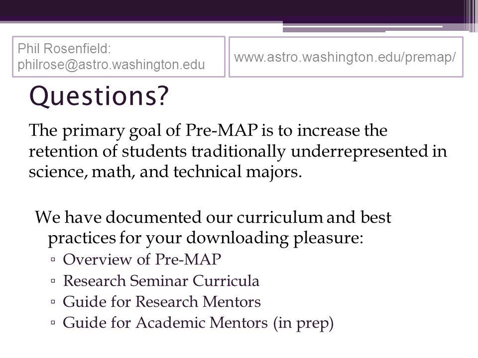 www.astro.washington.edu/premap/ Questions.