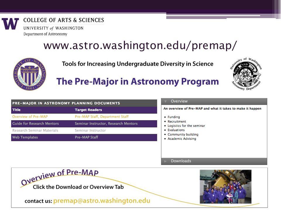 www.astro.washington.edu/premap/