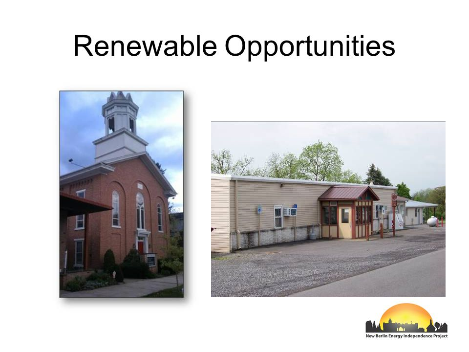 Renewable Opportunities