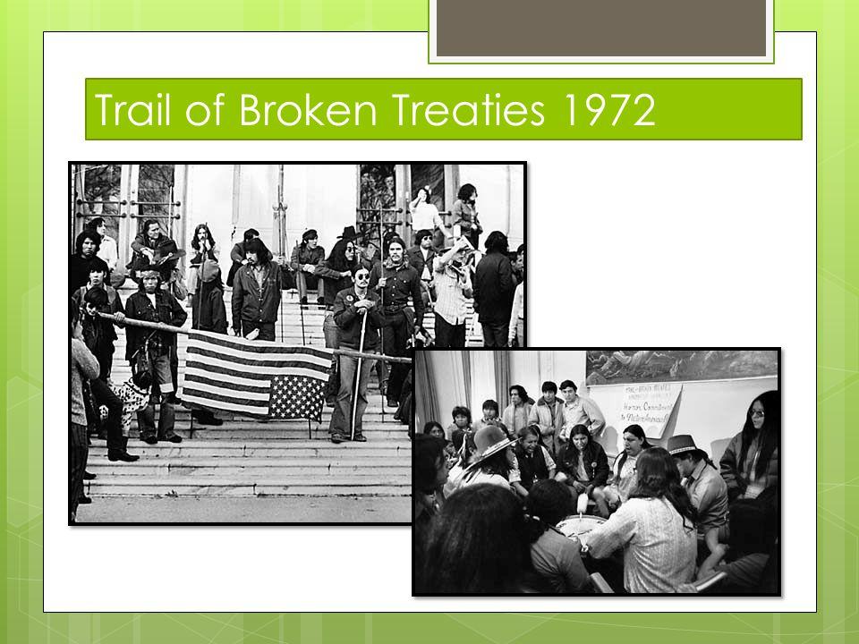 Trail of Broken Treaties 1972