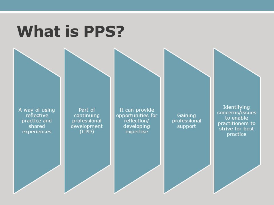 Benefits of PPS Mutual support Share common experiences Solve complex tasks Learn new techniques/strategies Increase insight 9