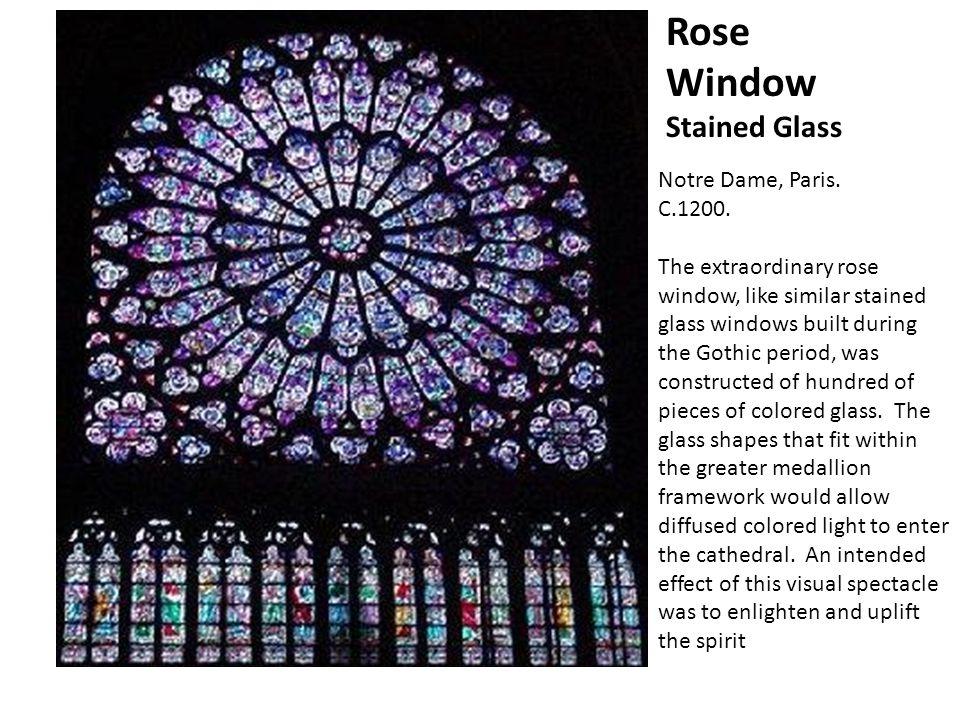 Notre Dame, Paris. C.1200.