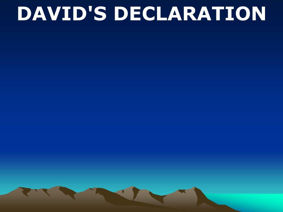 1. David s Love for God