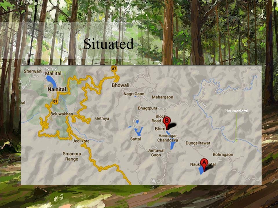 Naukuchiatal Nainital Situated