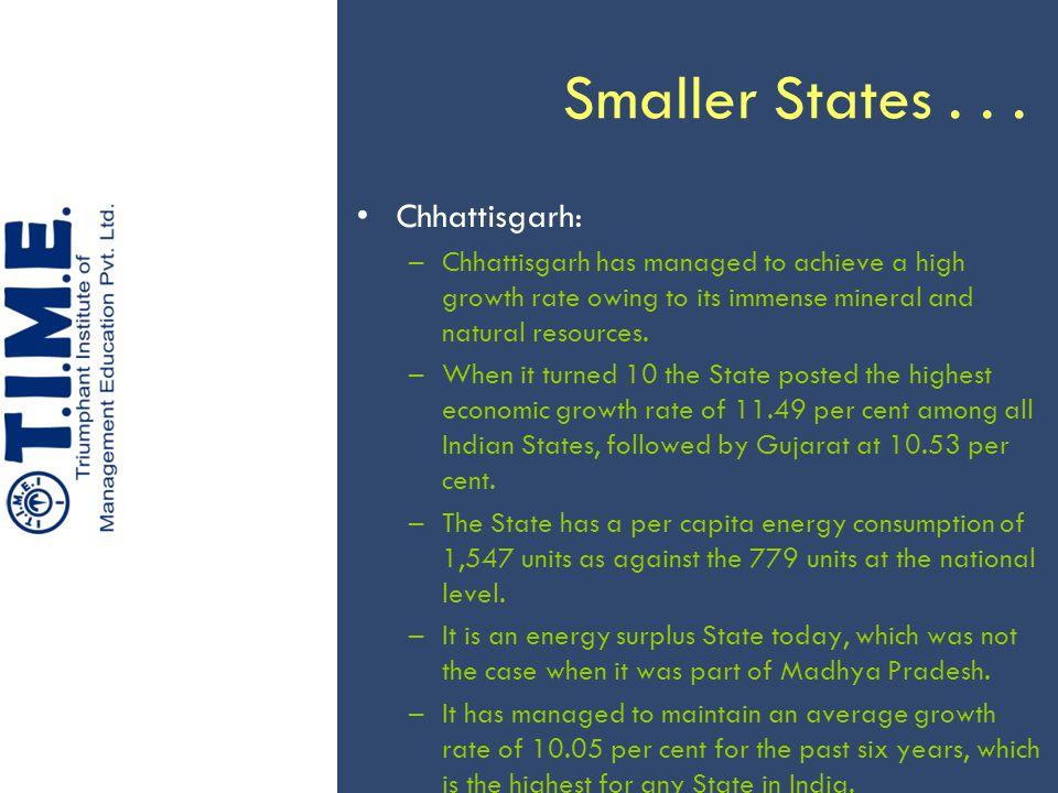 Smaller States...