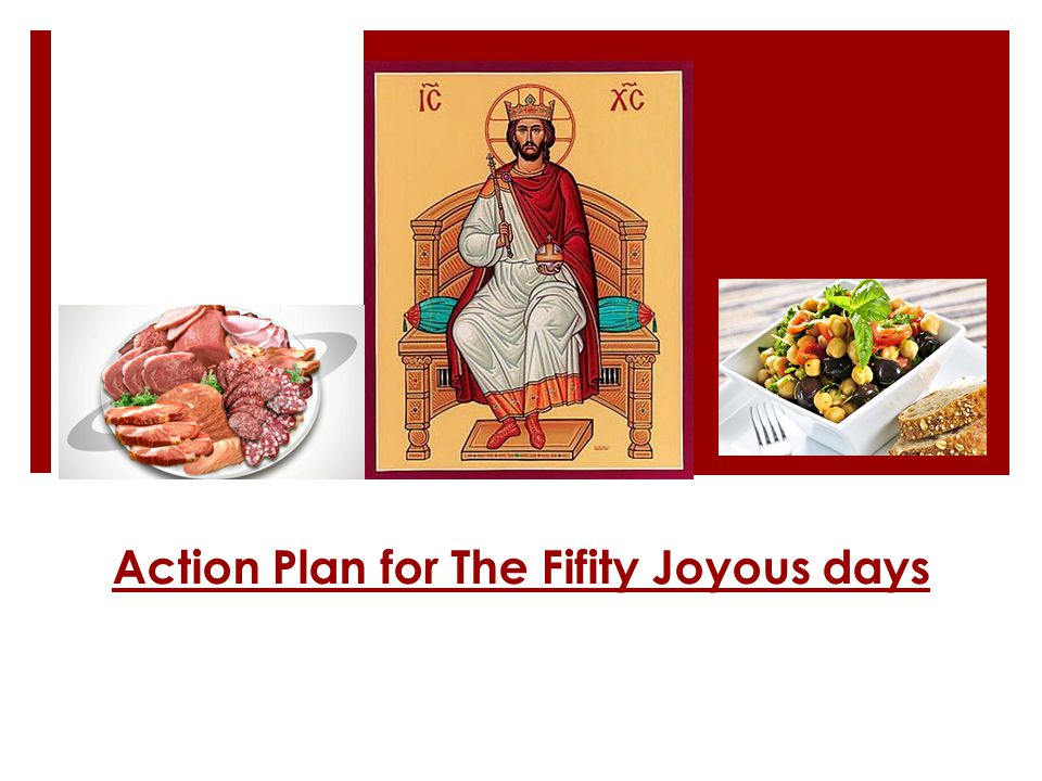 Action Plan for The Fifity Joyous days