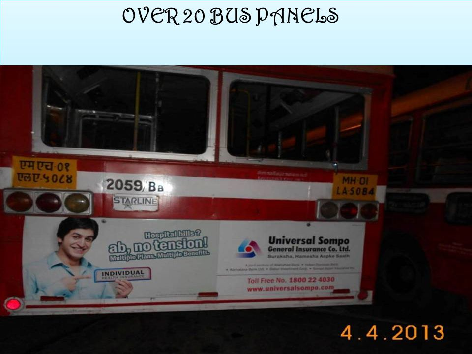 OVER 20 BUS PANELS