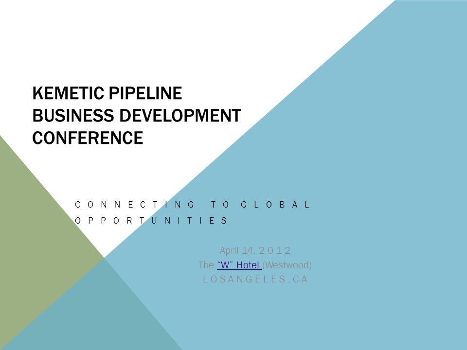 DEVELOPMENT CONFERENCE This dynamic two day conference is an opportunity for businesses of all sizes to find an answer to their funding needs, connect with other businesses, bid for projects, and make their goods and services available to the world.