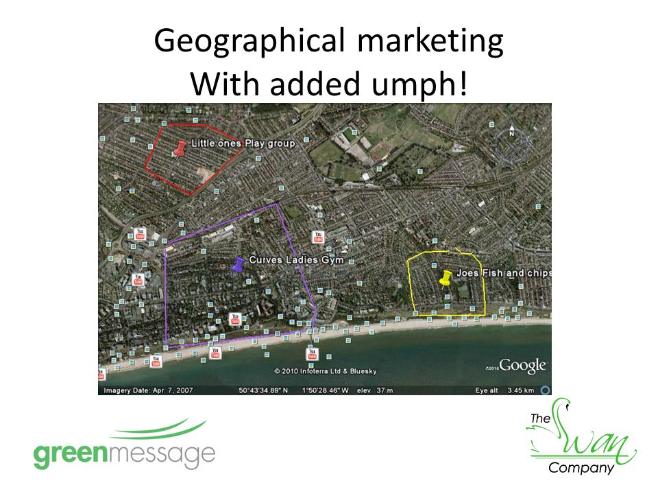Geographical marketing With added umph!