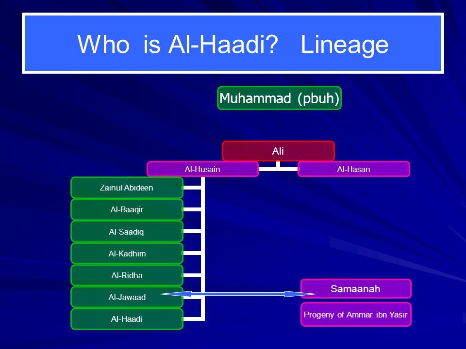 Who is Al-Haadi.