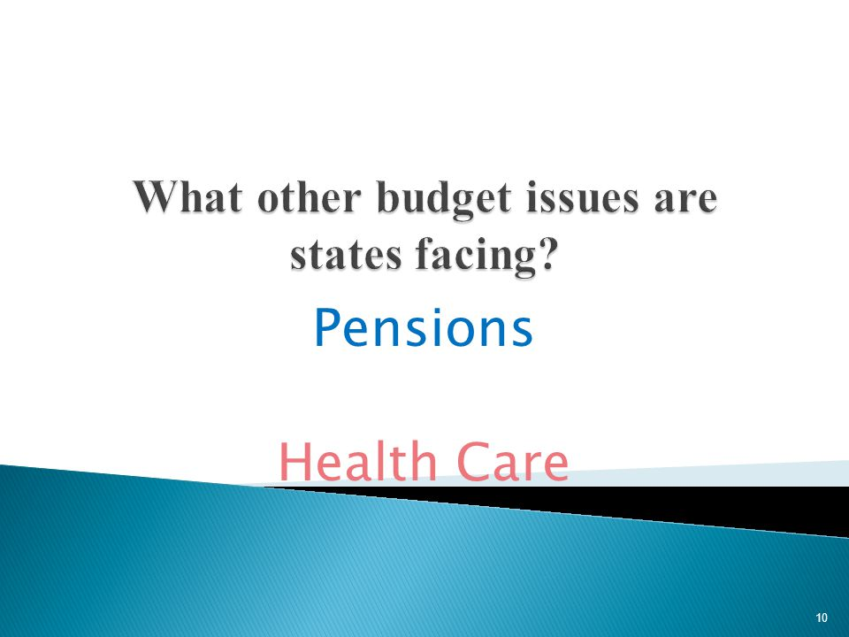 Pensions Health Care 10
