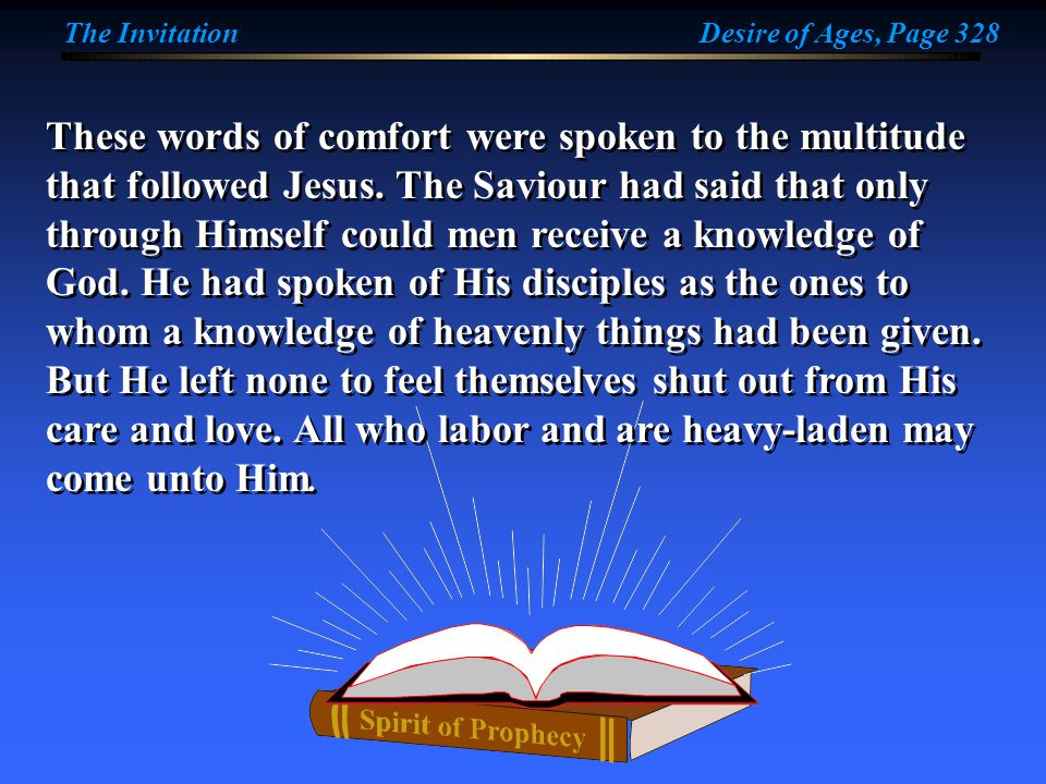 The rest that Christ offers depends upon conditions, but these conditions are plainly specified.