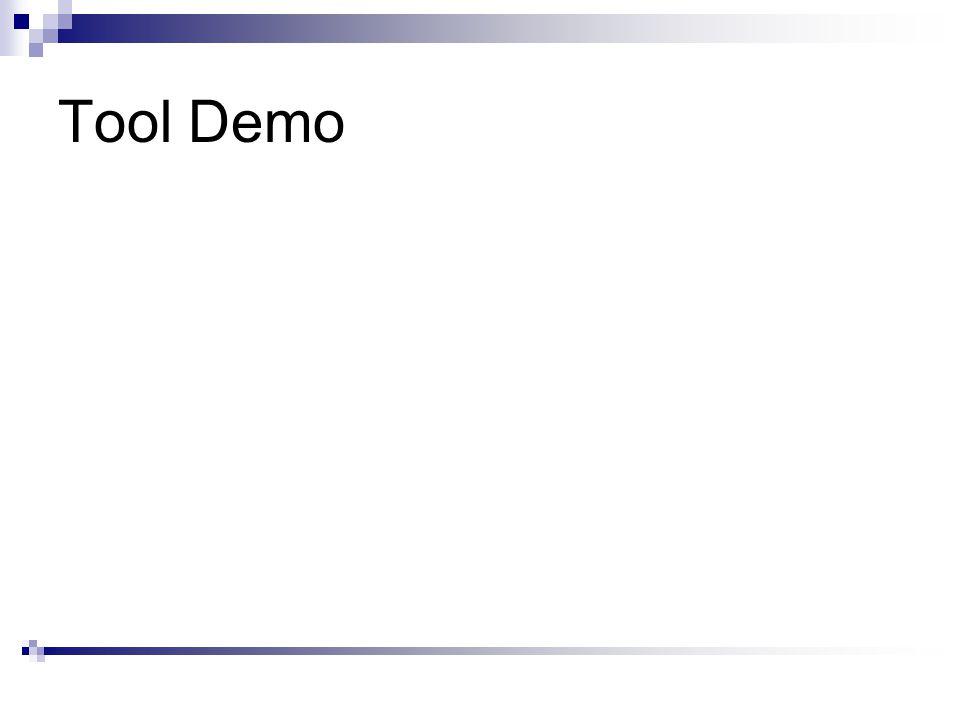 Tool Demo