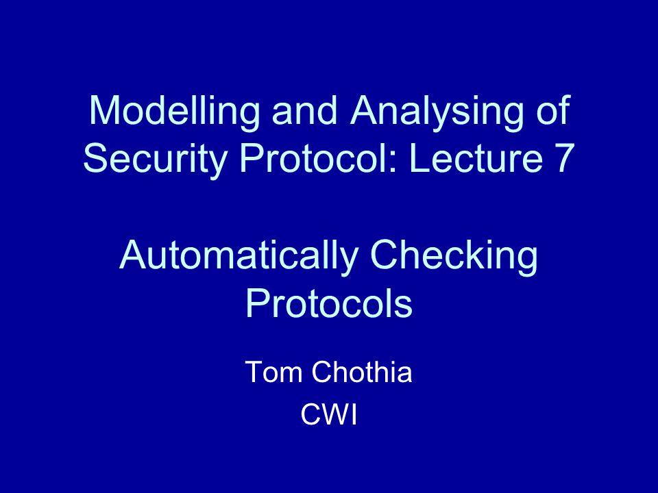 Demo. of adding protocols to the JAPE tool for BAN logic.