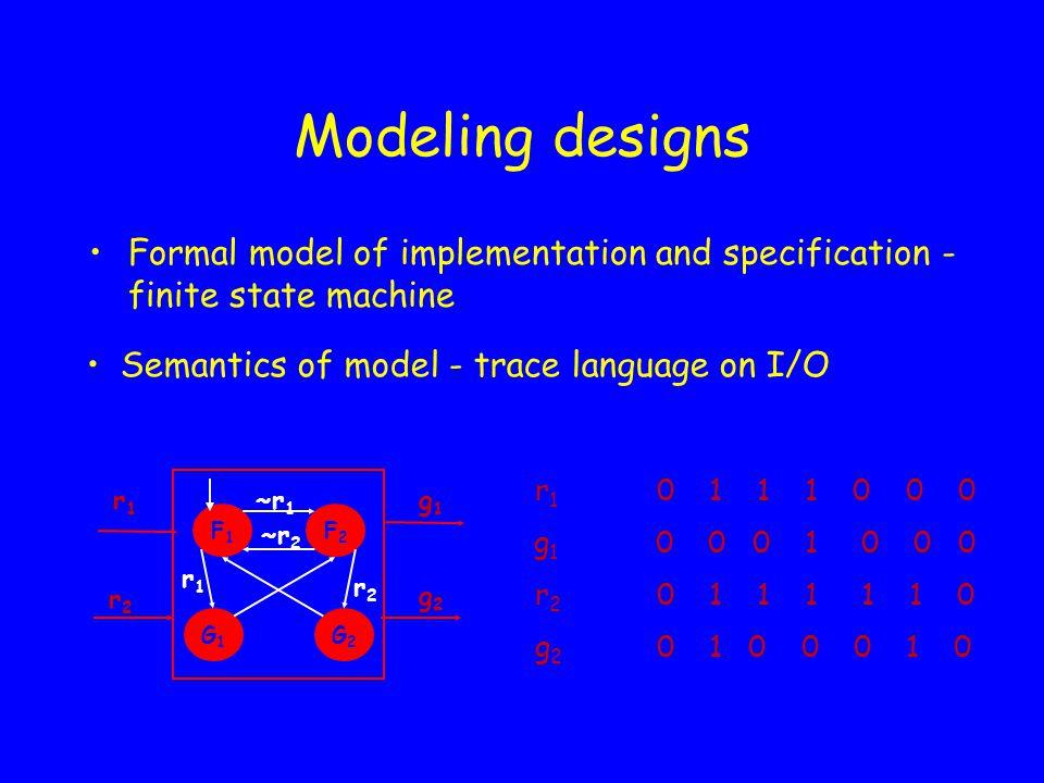 VIS : Limitations 1.Backward Model Checking Invariant checking : init   F bad   .
