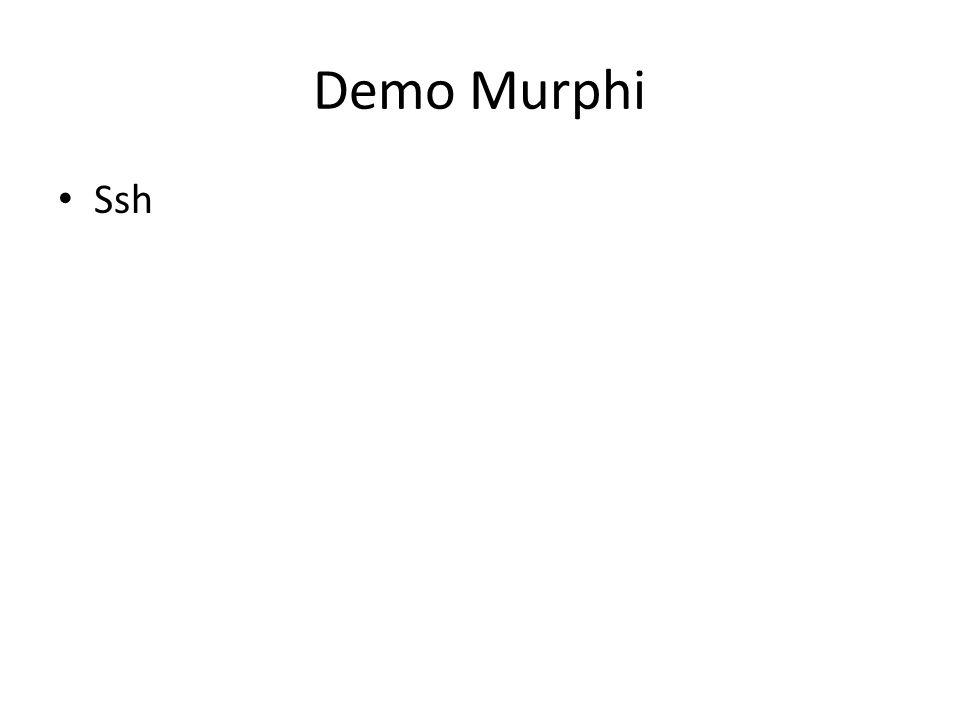 Demo Murphi Ssh