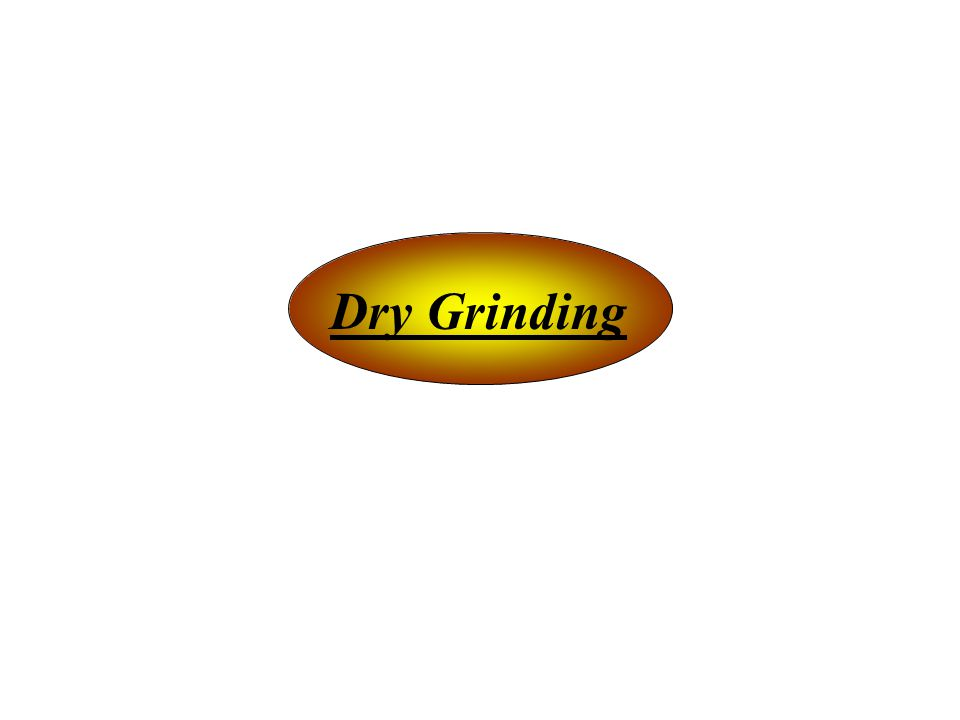 Dry Grinding