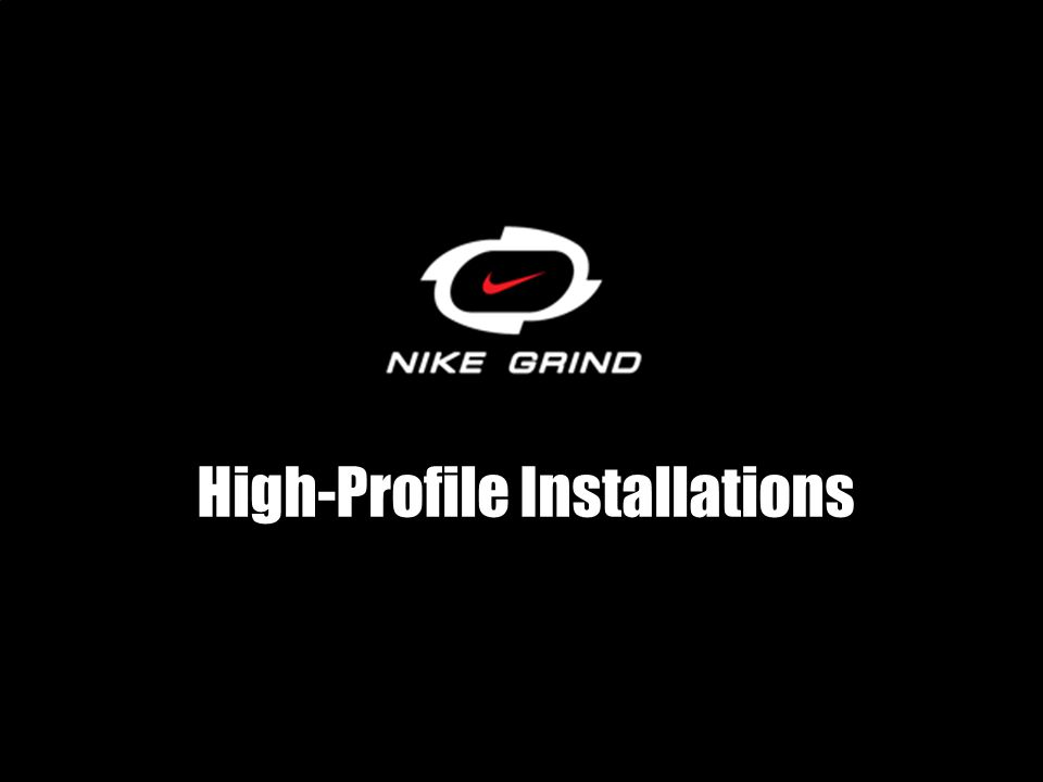 High-Profile Installations