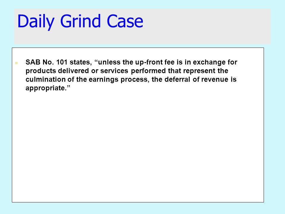 Daily Grind Case SAB No.
