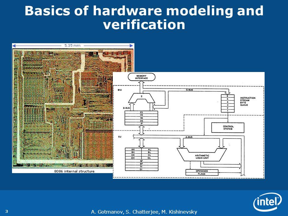 A.Gotmanov, S. Chatterjee, M. Kishinevsky 4 Hardware vs.