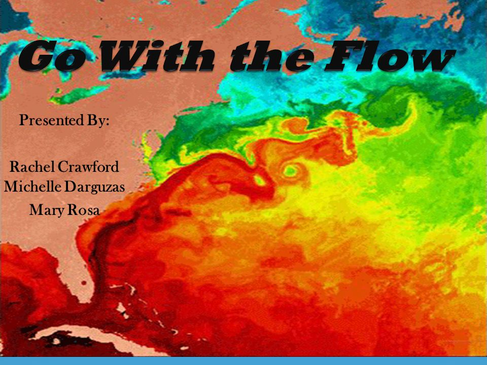 Summary Students will learn how to interpret data and demonstrate an understanding of how the ocean floor topography influences the ocean's currents.