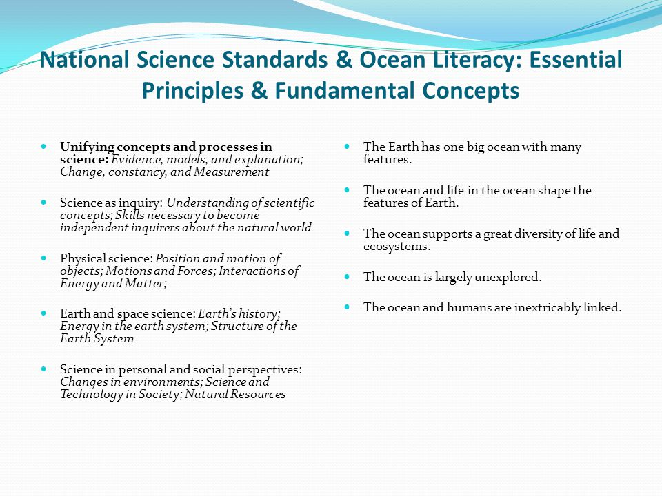Objectives: Students will be able to understand basic ocean floor topography.