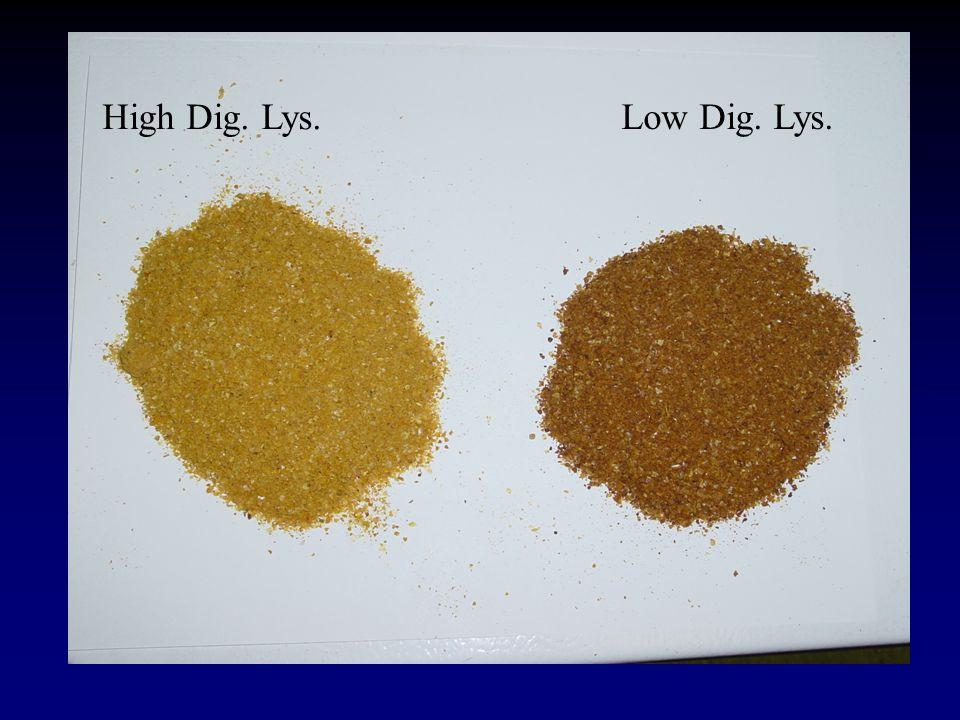 High Dig. Lys. Low Dig. Lys.