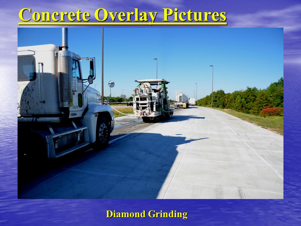 Concrete Overlay Pictures Diamond Grinding