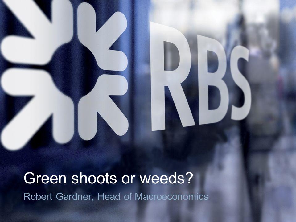 Green shoots or weeds Robert Gardner, Head of Macroeconomics