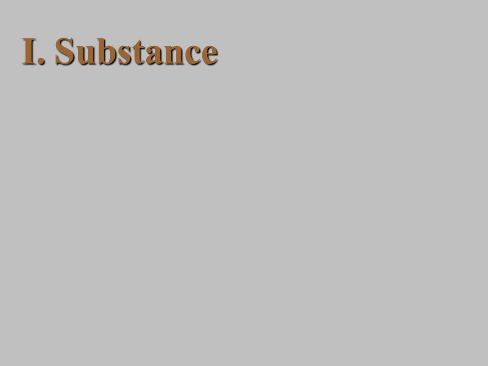 I.Substance