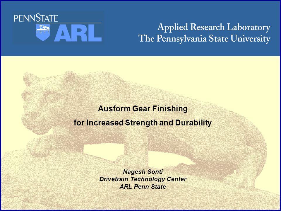 ARL Penn State Process Modeling