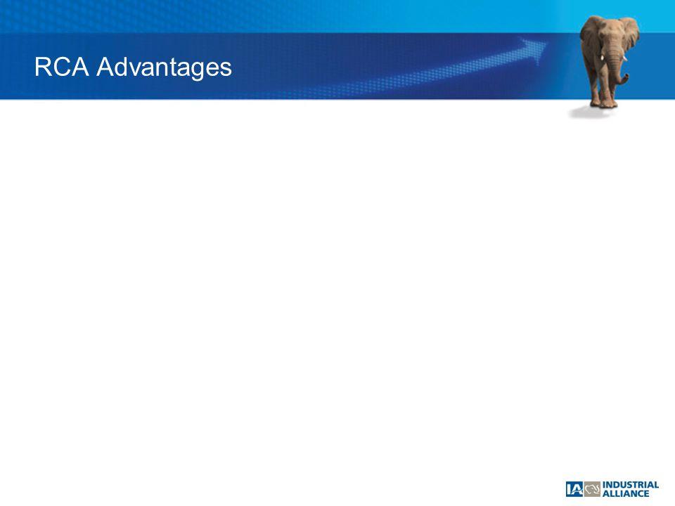 RCA Advantages