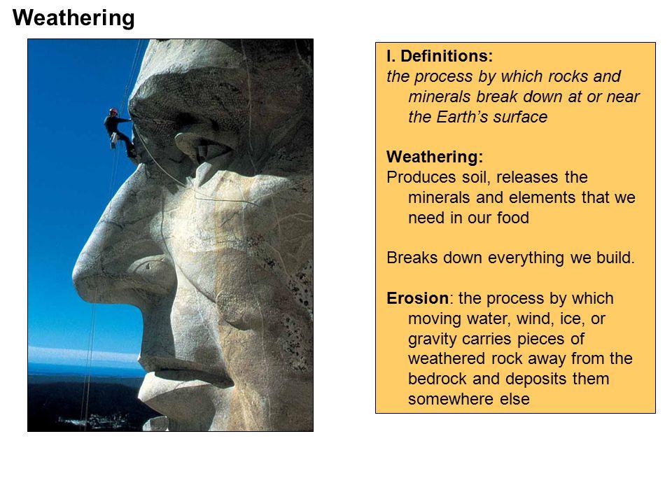 Weathering I.