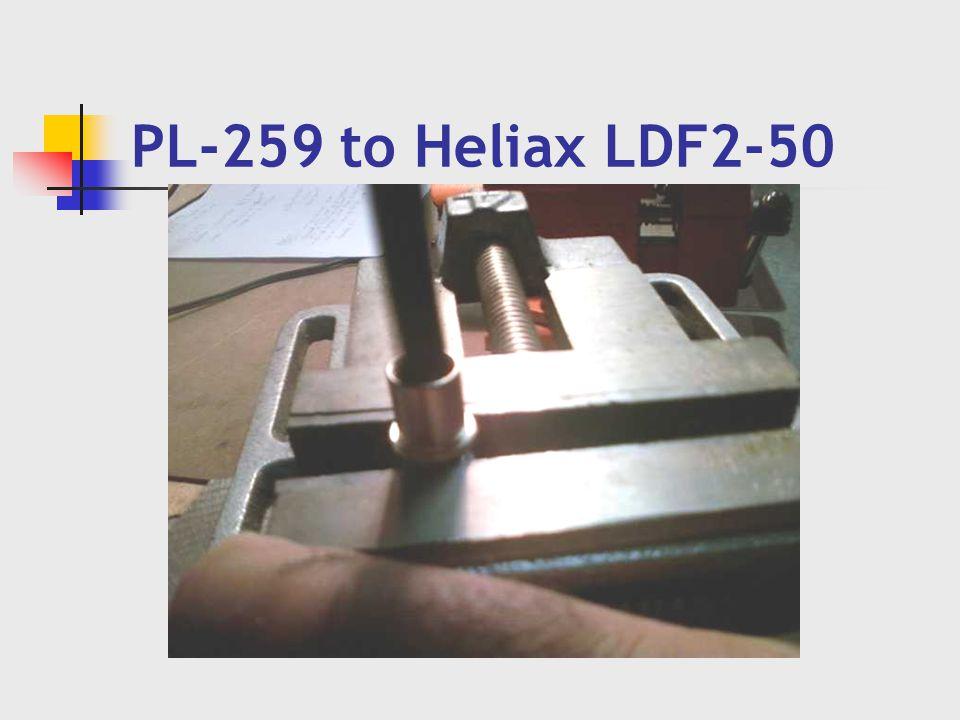 PL-259 to Heliax LDF2-50