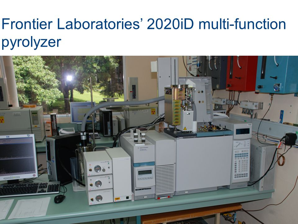 Frontier Laboratories' 2020iD multi-function pyrolyzer