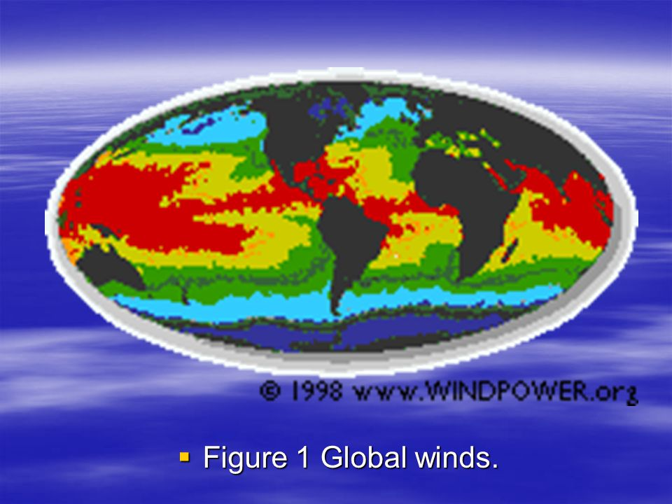  Figure 1 Global winds.