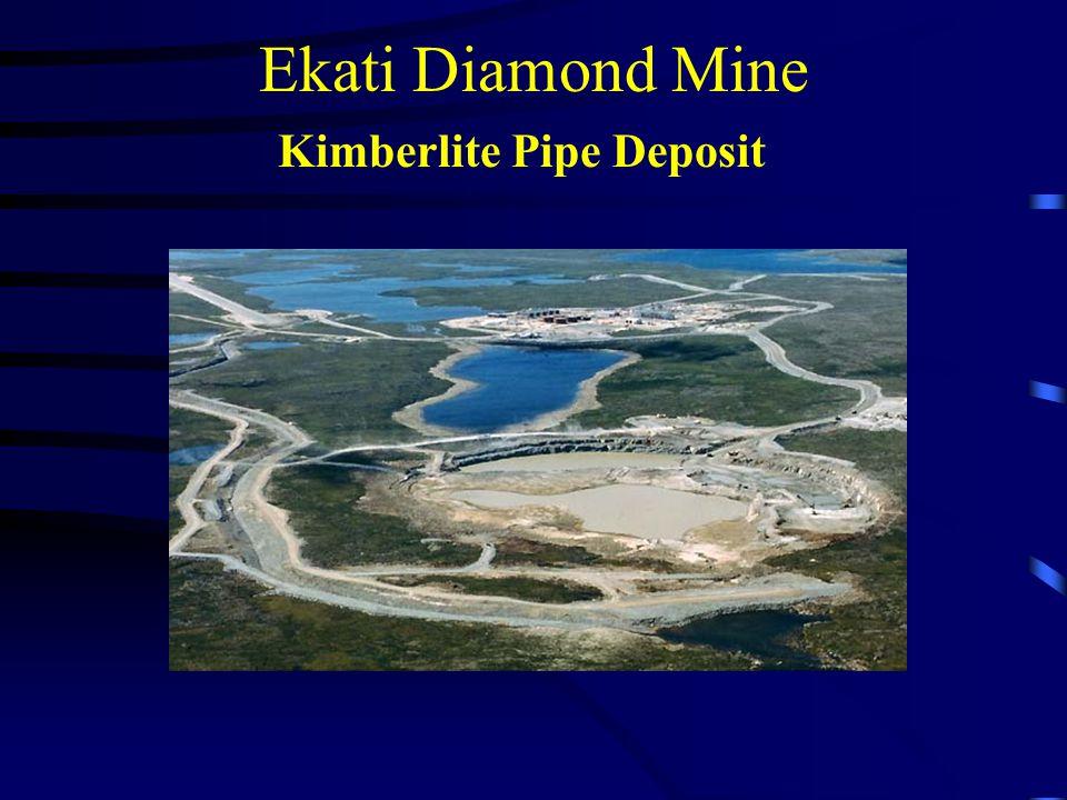 Ekati Diamond Mine Kimberlite Pipe Deposit