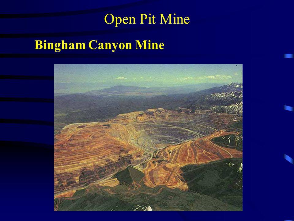 Open Pit Mine Bingham Canyon Mine