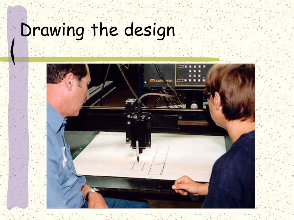 Drawing the design