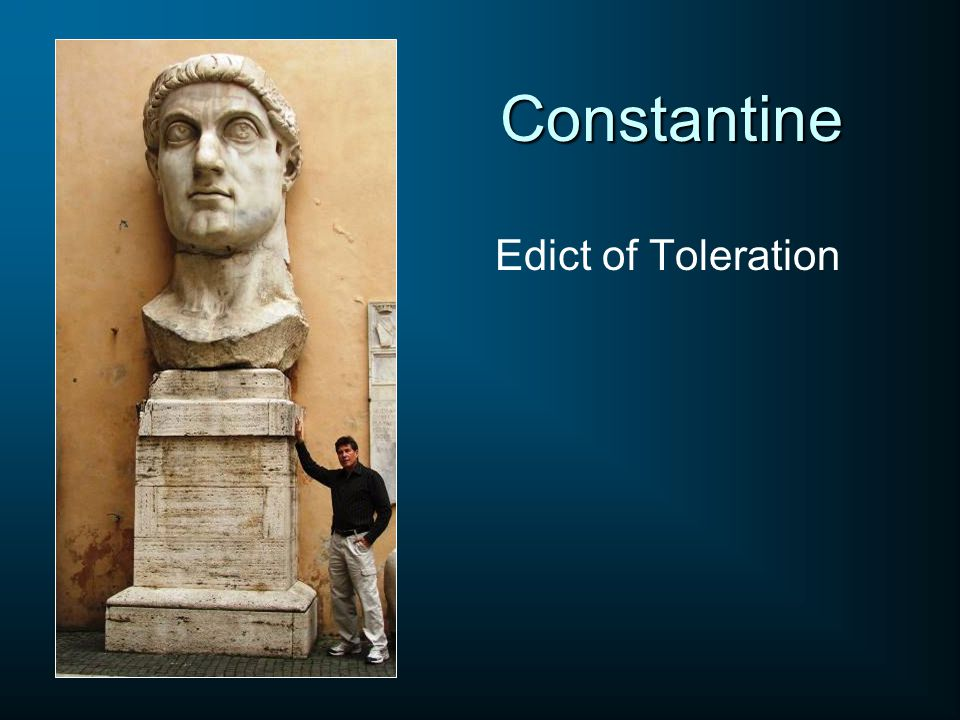 Constantine Edict of Toleration