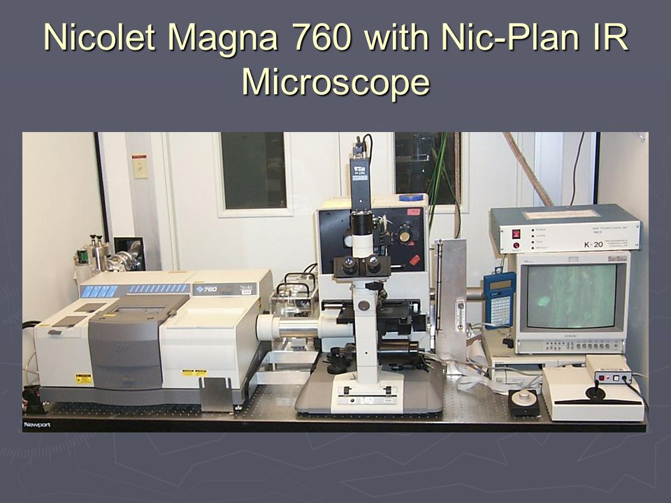 Nicolet Magna 760 with Nic-Plan IR Microscope