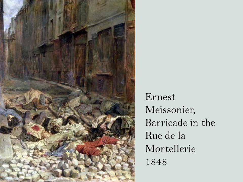 Ernest Meissonier, Barricade in the Rue de la Mortellerie 1848