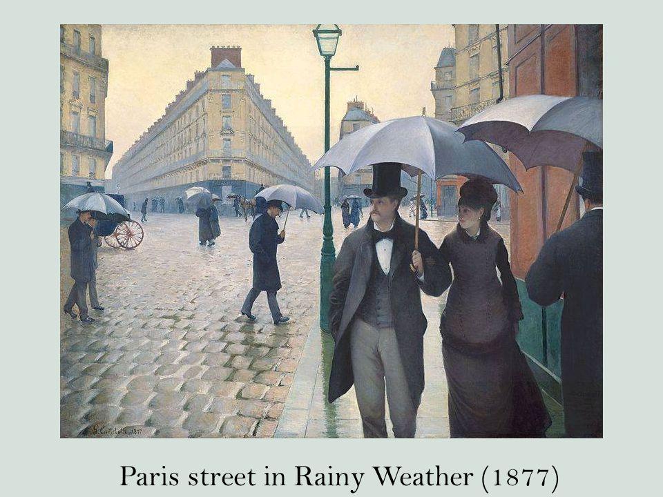 Paris street in Rainy Weather (1877)