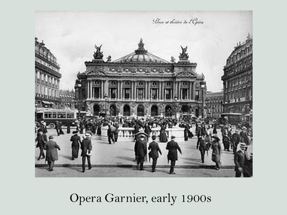 Opera Garnier, early 1900s