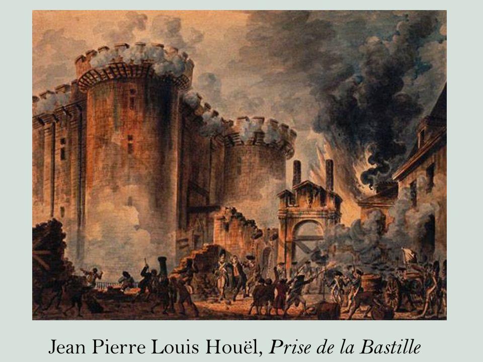 Jean Pierre Louis Houël, Prise de la Bastille